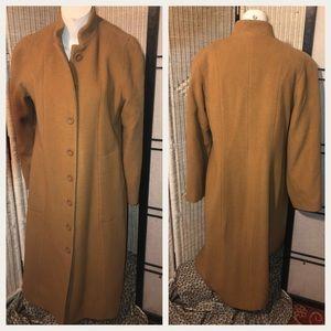 Harve Bernard 100% Wool Full Length Coat Size 8
